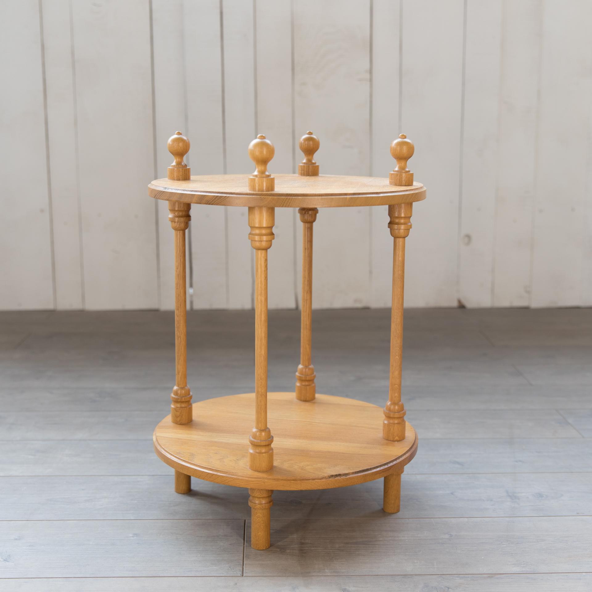 Beistelltisch rund aus Holz