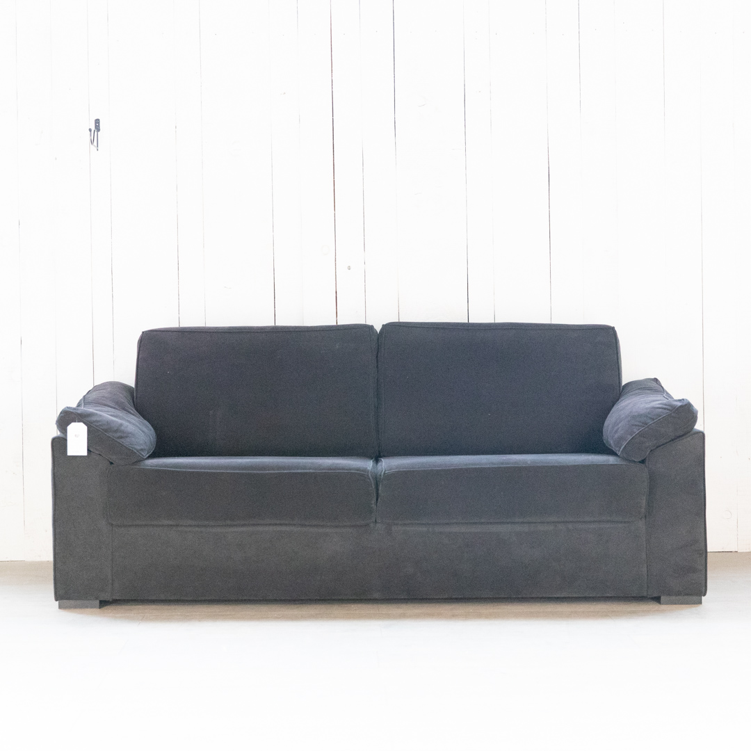 Sofa schwarz feiner Cord